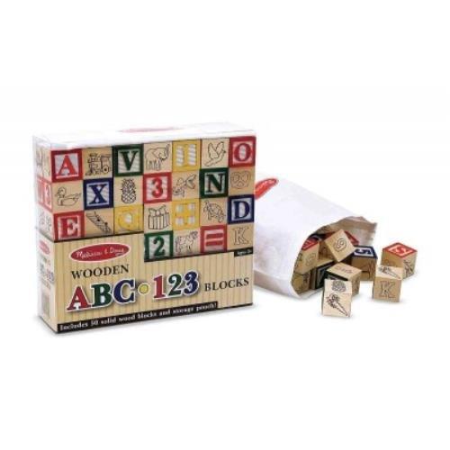 Wooden ABC/123 Blocks