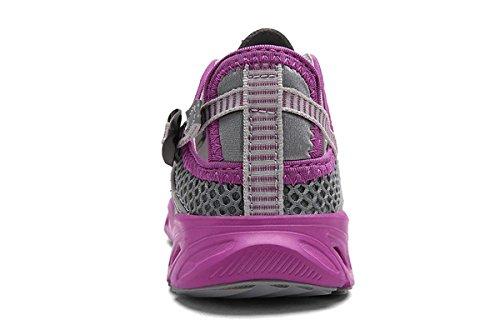 Breathable TZT TZTONE Sneakers Unisex Hiking Outdoor Dry HS666 Quick Men Walking Women Greypurple Shoes 5w4wFqxP