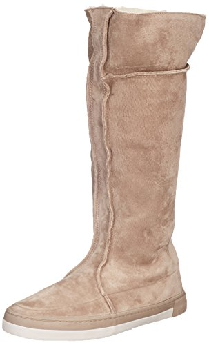 Dance Hub Sneaker Alto Taupe 705 Boot cool Donna a Taupe Dark N30 Beige Dark Collo Taupe f4qR4dB