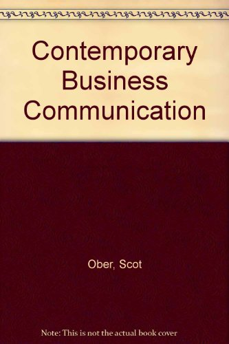 Contemporary Business Communications