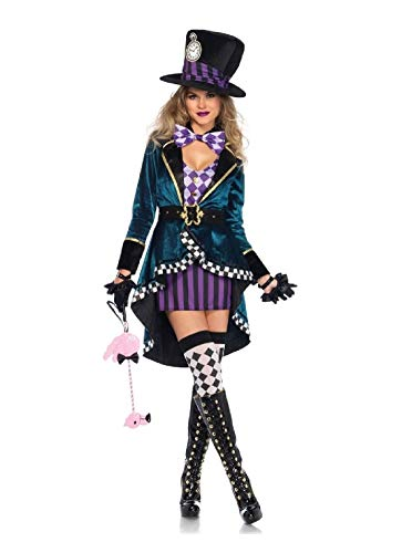 Delightful Miss Hatter Adult Womens Costume
