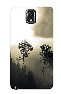 Pretty MmhOfXQ3366NmOxB Galaxy Note 3 Case Cover/ Foggy Mountains Series High Quality Case For Thanksgiving Day's Gift by supermalls