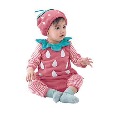 with Baby 9 Red Chic Pink Outfit 3 Girls Hat Pcs Fairy Infant Costume Boys Size Baby Set Halloween 12M 7w0TUdZq