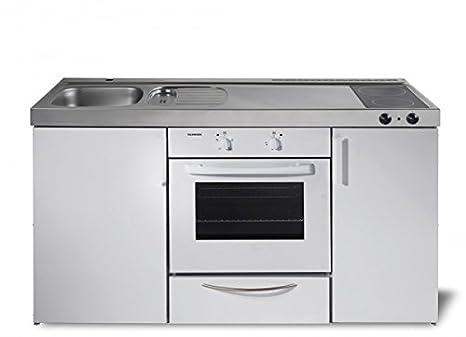 Miniküche Mit Backofen Ohne Kühlschrank : Miniküche kitchenline mkbgsc ohne kühlschrank backofen
