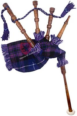 Junior Playable Bagpipes Rose WoodChild KidsBagpipe Various Scottish Tartans (Pride of Scotland) / Junior Playable Bagpipes Rose WoodChild KidsBagpipe Various Scottish Tartans (Pride of Scotland)