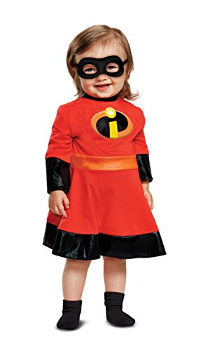 (Disguise Baby Girls Violet Infant Costume, red)
