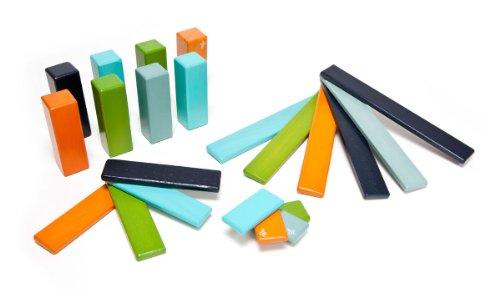 Amazon Lightning Deal 57% claimed: 22 Piece Tegu Endeavor Magnetic Wooden Block Set Nelson
