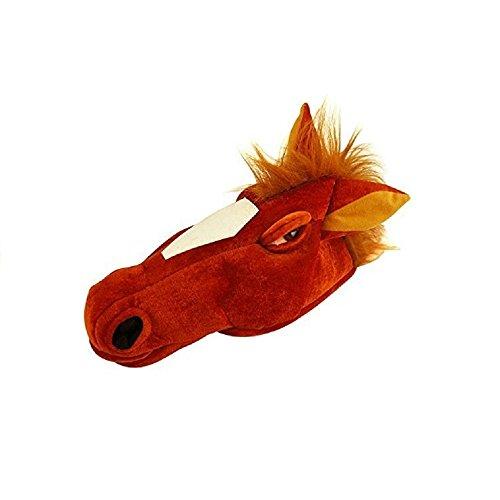[Party Horse Head Fancy Dress Hat] (Horse Head Costume)
