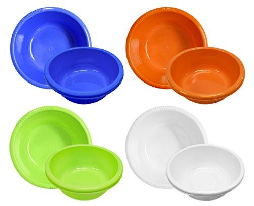 colored plastic bowls - 5