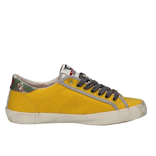D.A.T.E. Sneakers Donna 37 EU Giallo Tessuto Camoscio AE578