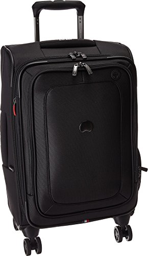 - Delsey Luggage Cruise Lite Softside Carry-On Exp. Spinner Suiter Trolley, Black