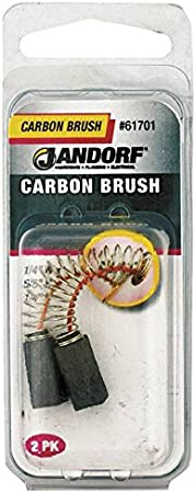 Jandorf CB-113, 5//8 in L W X 1//4 in Thick, Carbon Manufacturers Direct 61701 1 Pack Motor Brush