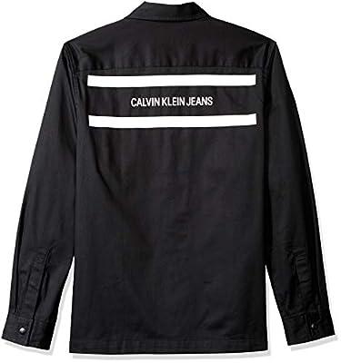 Calvin Klein Men's Utility Shirt,