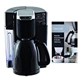 NuWave BruHub Coffee Maker with 40 oz. Carafe with Descaling Cleaning Powder