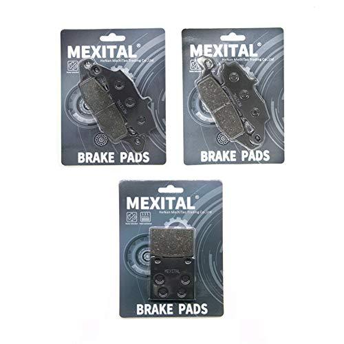 MEXITAL motorfiets remblokken voor MXB229-231-63 voor + achter.