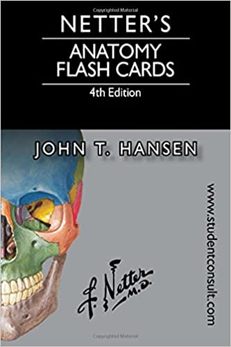 Netters Anatomy Flash Cards With Online Student Consult Access Netter Basic Science 4th Edition