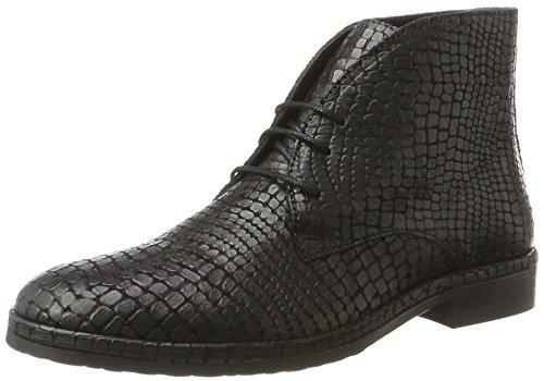 Fred de la Bretoniere Women's Ankle Schnür Stiefelette Desert Boots Black (Black 0001) tkjGKB2n