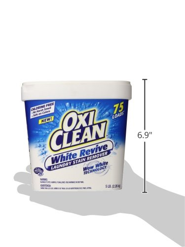 Oxiclean White Revive Powder 5 Pound Import It All