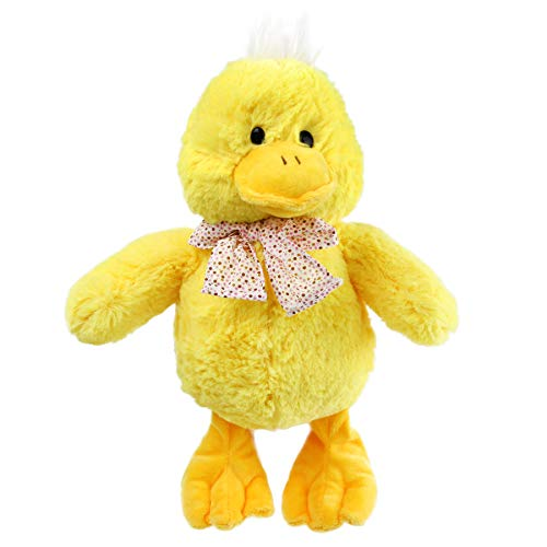Athoinsu Yellow Duck Stuffed Farm Animal Soft Plush Toy Bedtime Companion Ideal Gifts for Toddlers Kids at Birthday Christmas, 11.8''