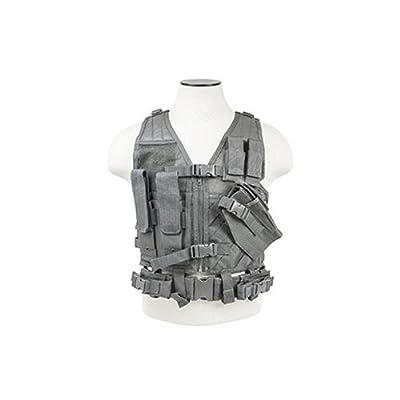 NC Star Children's Tactical Vest, Urban Gray