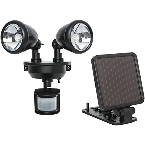 The BEST MAXSA INNOVATIONS SOLAR LED SEC LIGHT BLK by Generic