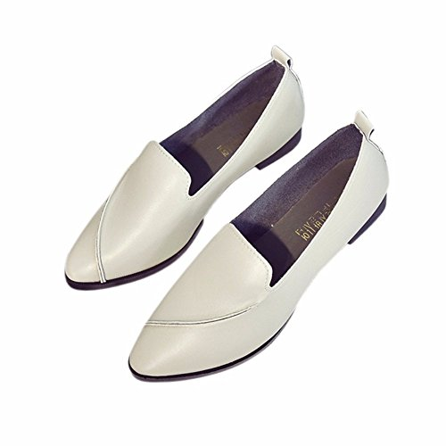 Flat Women's Shoes Lazy Comfortable Bottom Single Gray Shoes YUCH Casual Sw4qvOS