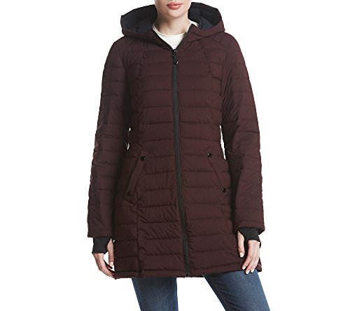 Quilted Hooded Coat - 1