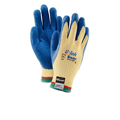 PIP G-Tek KEV Kevlar Latex Coated String Knit Gloves - GLV500-L
