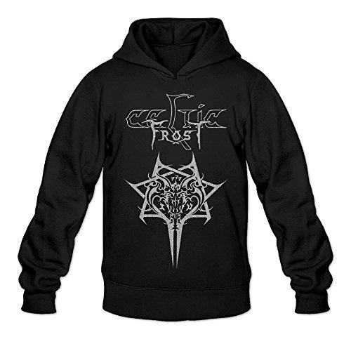 [DVPHQ Men's Classic Celtic Rock Band Frost Hoodies Size S Black] (Grumpy Cat Costume Ideas)