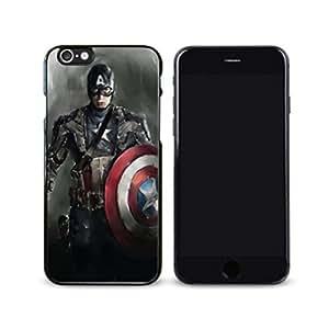 SuperHero Captain America image Custom iPhone 6 - 4.7 Inch Individualized Hard Case wangjiang maoyi