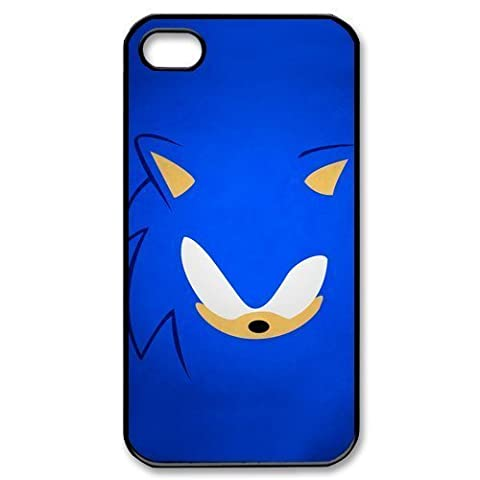 Custom Your Own Sonic the Hedgehog iPhone 4/4S Case , personalised Sonic the Hedgehog Iphone 4 (Sonic Iphone 4s Case)