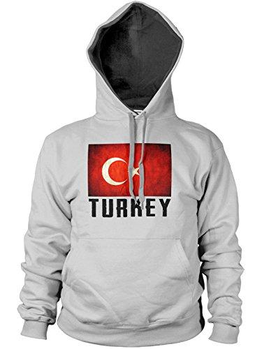 Lrg Cotton Vest (Funkyshirt Men's Turkey Hoodie Large Sport Grey)