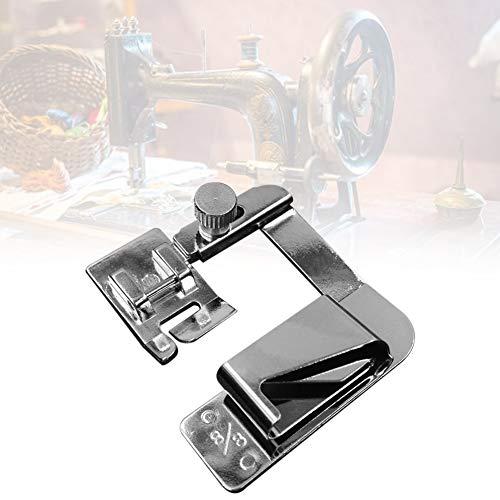 25mm leanBonnie Pied Domestique Multifonctionnel de ourleur de Bande de Presser de Bande de Tissu dourlet pour la Machine /à Coudre de m/énage 13mm 19mm
