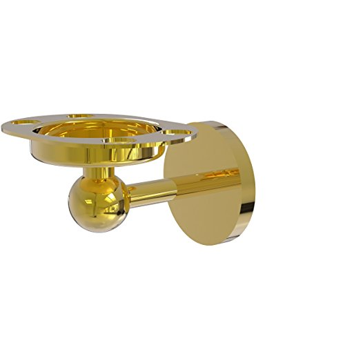 Allied Brass Skyline Tumbler and Toothbrush Holder with Twisted Accents