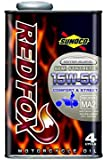 SUNOCO REDFOX 15W-50 1Lx1缶 スノコ レッドフォックス コンフォート&ストリート MA適合 セミ 部分合成油