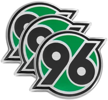 Sticker H96 Plus Lesezeichen I Love Hannover Aufkleber 11-teilig Hannover 96 Aufkleberkarte A5