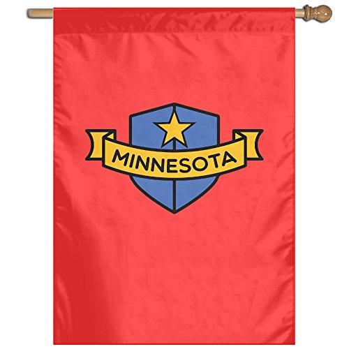 Minnesota Shield House Flag Garden Flag Indoor Flag   Sizes  2737