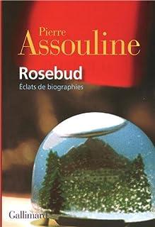 Rosebud : éclats de biographies, Assouline, Pierre