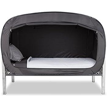 Privacy Pop Bed Tent (Queen) - BLACK  sc 1 st  Amazon.com & Amazon.com: Privacy Pop Bed Tent (Queen) - BLACK: Toys u0026 Games