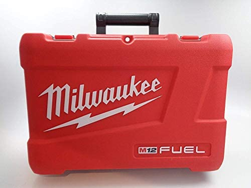Milwaukee Tool Case Only – Fit for 2597-22 M12 12 Volt Tools – Hammer Drill 2404-20, Impact Driver 2453-20, Charger, Batteries, Manuals by Milwuakee M12