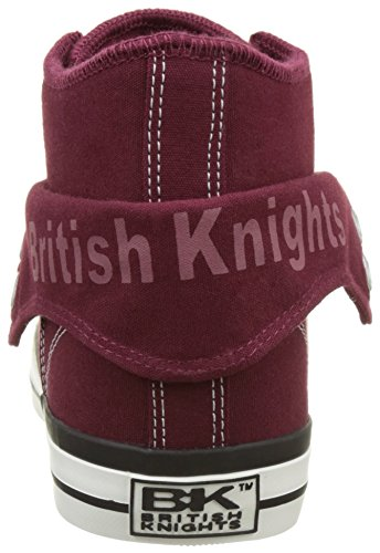British Knights Roco - Zapatillas Mujer Rojo (Burgundy)