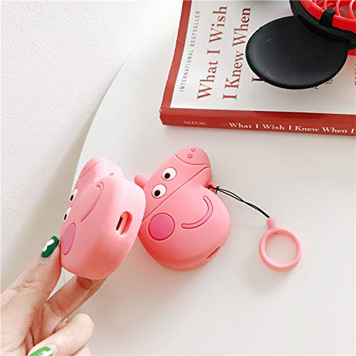 Beyond Compatible with Airpods 1/&2 Case,Cute Funny Cartoon Fruit Character Silicone Airpod Cover,Kawaii Fun Design Skin,Fashion Animal Designer Cases for Girls Kids Teens Boys Air pods Purple