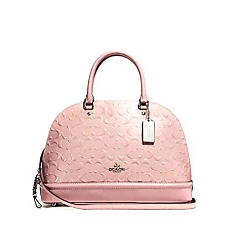 Coach Pink Patent Leather Bag - 4