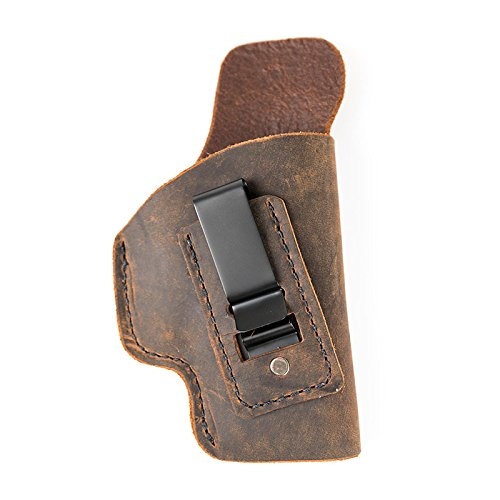 Muddy River Tactical H&K USP Compact 9/40 - Soft Sided Leather Inside The Waistband (IWB) Concealed Carry Holster (Right Handed)