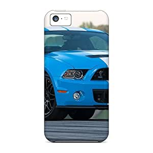 Iphone Case - Tpu Case Protective For Iphone 5c- Ford Mustang Shelby Gt500 2013