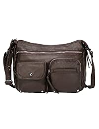 Scarleton Soft Washed Multi Zip Crossbody Bag H1800