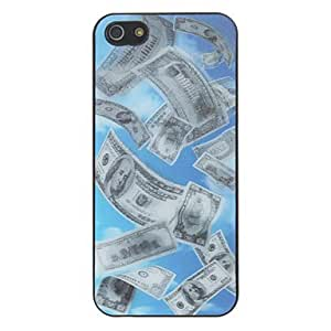 LZX3D Greenback Pattern Hard Case For iPhone 5/5S