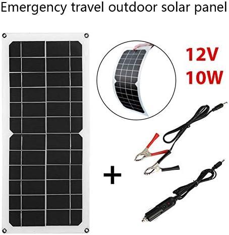 Zhang 12V 10W USB-Ausgang Solarladegerät Outdoor Protable Solar Ladegerät Für Mobiltelefon 10W Solarpanel Mono Solarzelle Outdoor Solarzelle Camping