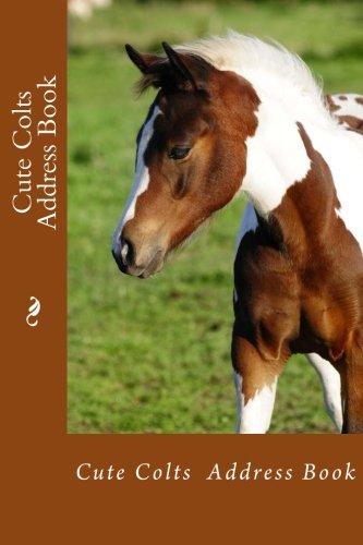 Cute Colts Address Book (Address Books) ebook