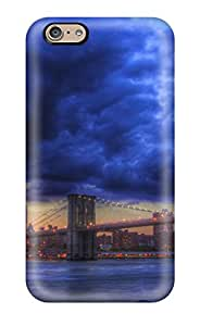 Ultra Slim Fit Hard StaceyBudden Cases Covers Specially Made For Iphone 6- Brooklyn Skyline